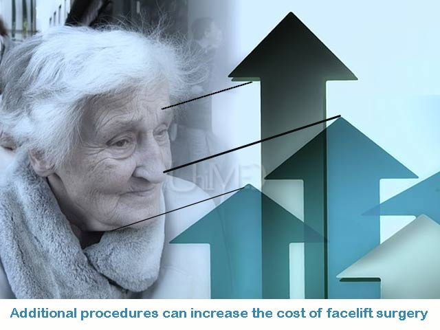 Facelift cost increases with more procedures